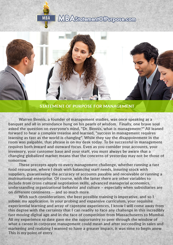 statement of purpose project management For additional information on risk management best practices and  then risk statement  team in this language will extend the project's schedule by.