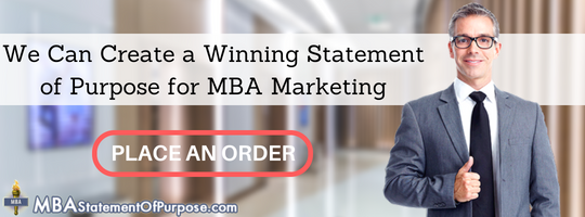 marketing statement of purpose