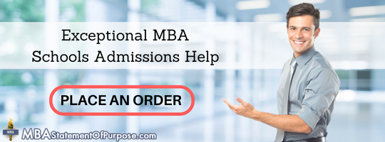 mba statement of purpose template