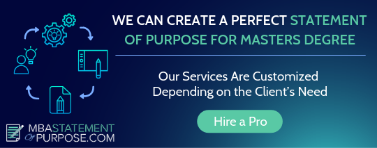 masters degree statement of purpose