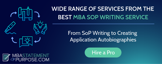 statement of purpose for mba writing service